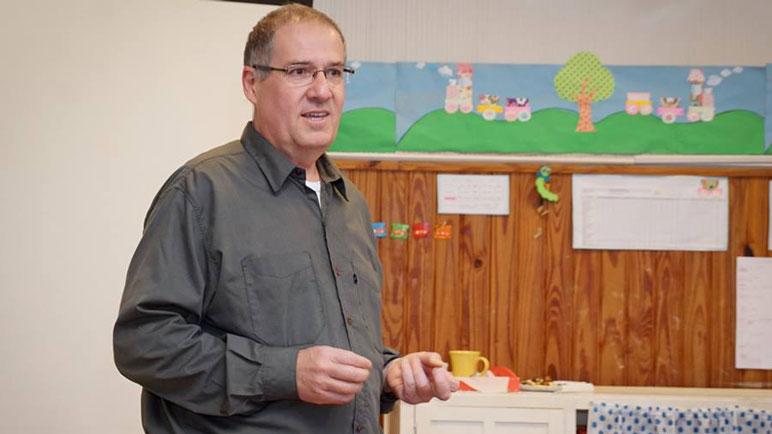 Armando Yualé, delegado local, crítico con el arreglo que se cerró.