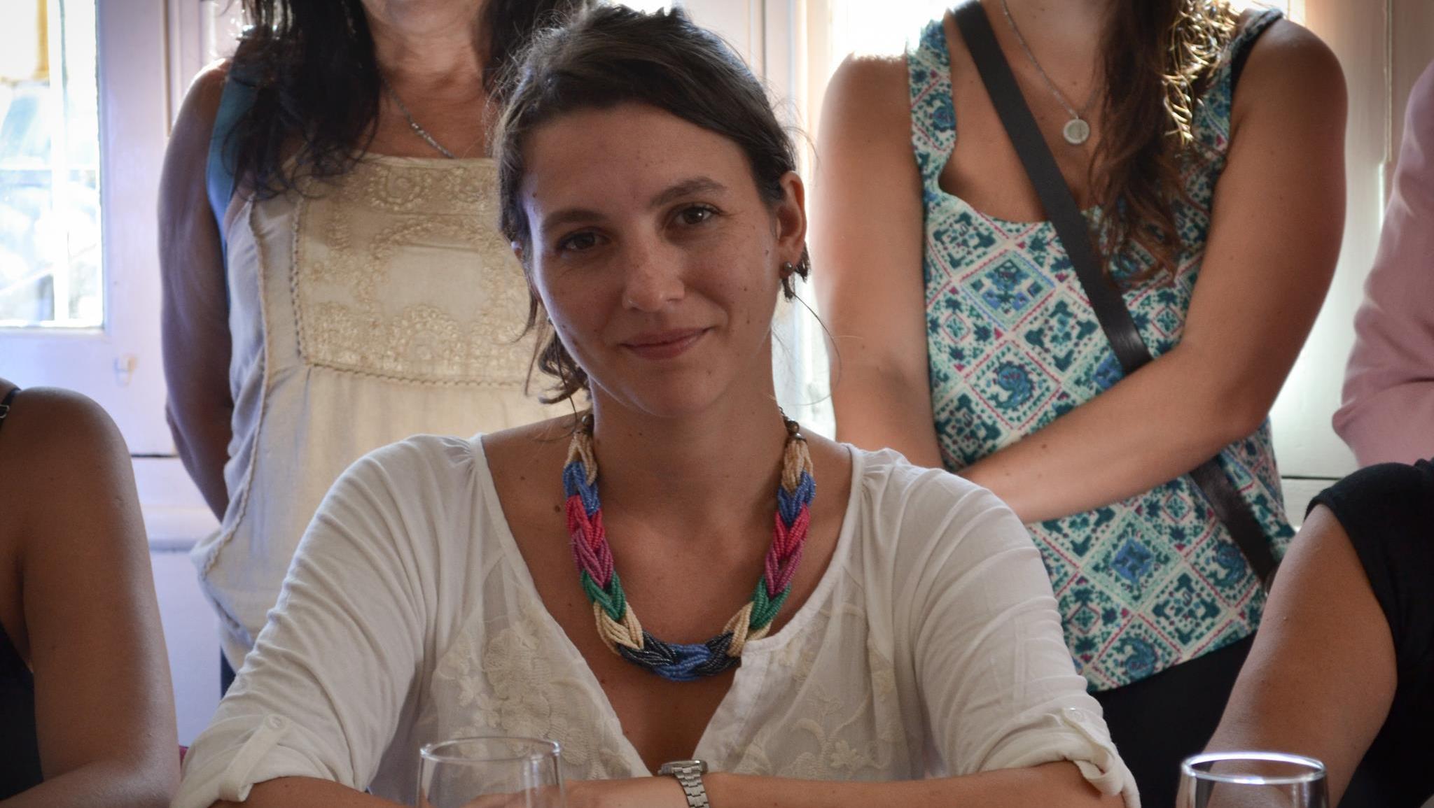 La ex diputada provincial, Mercedes Meier.
