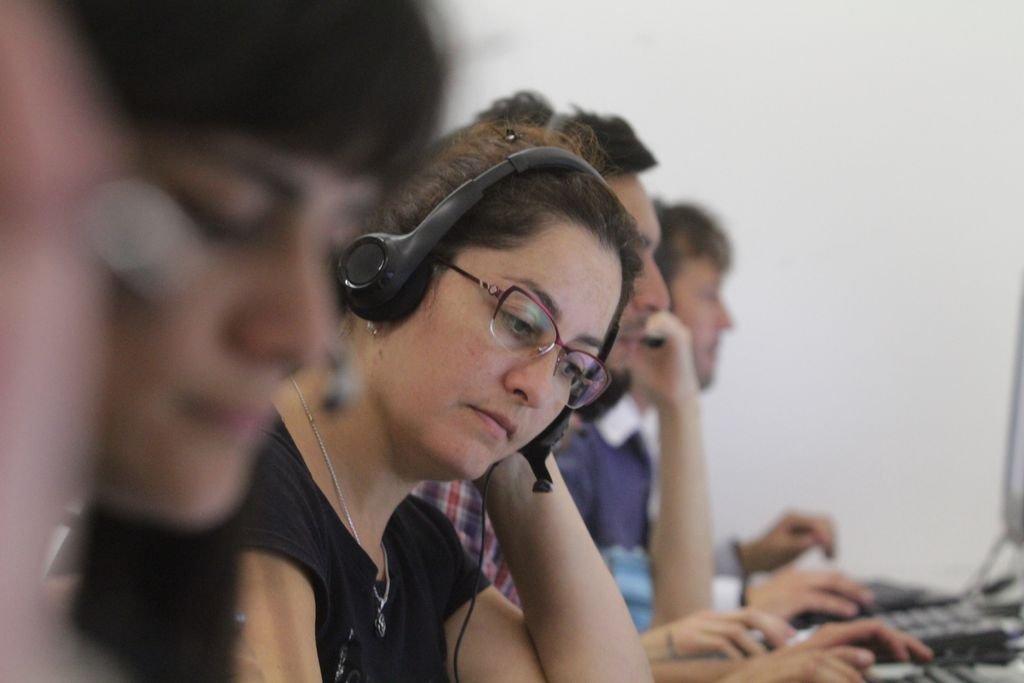 El call center del Gobierno Provincial recibió miles de consultas desde marzo.