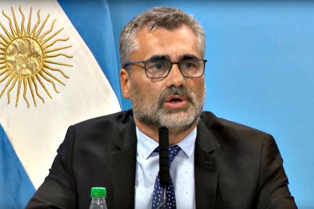 Vanoli fue notificado en una reunión con el jefe de ministros.