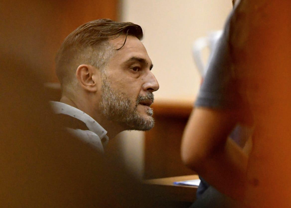 El abogado cuando fue imputado por los graves cargos contra la banda de Alvarado.