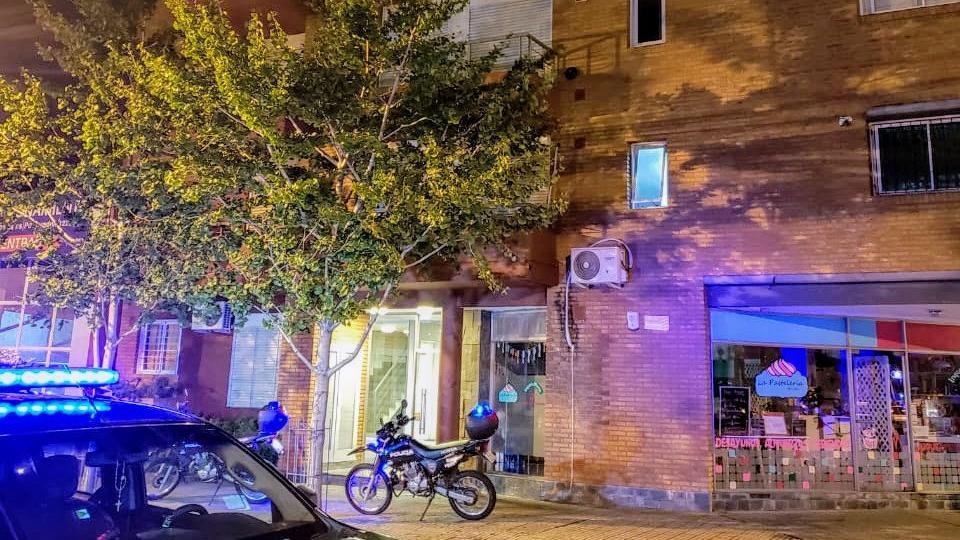 El departamento del crimen, en Pueyrredón casi Mendoza (Rosarioplus)
