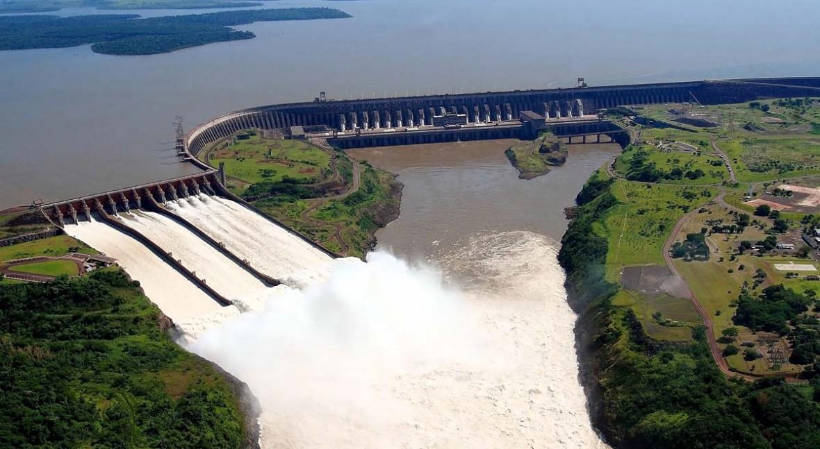 Represa de Itaipú erogará agua