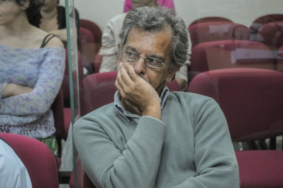 Nast, durante el juicio (Página12)