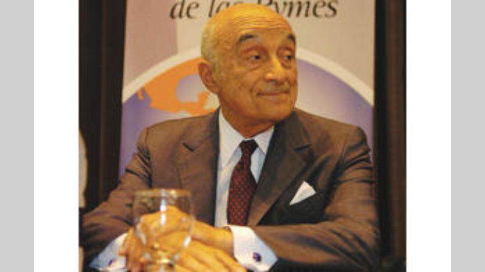 Enrique Eskenazi, titular del grupo propietario del BSF.