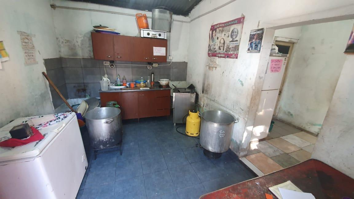 La cocina del centro comunitario del barrio.