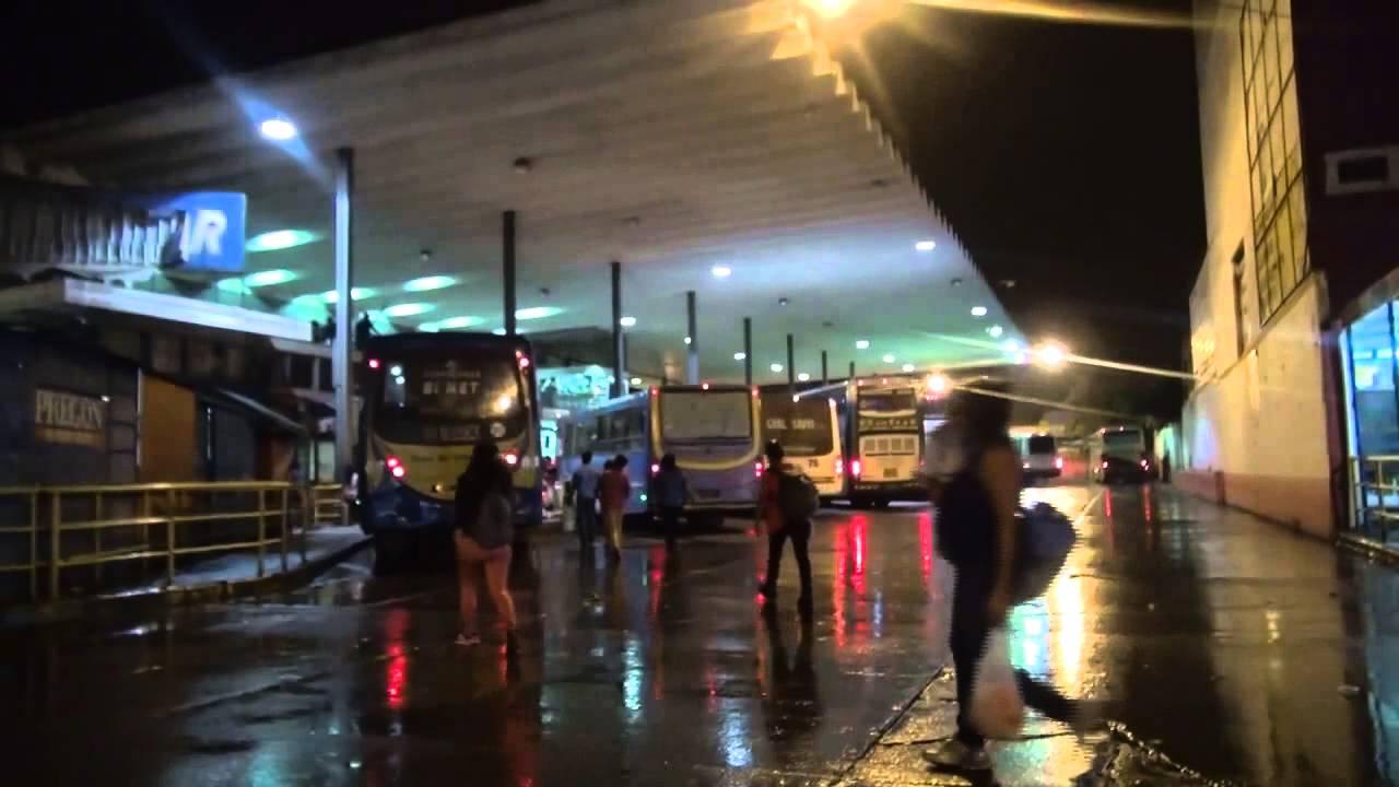 """El joven """"mula"""" partió desde la terminal de San Salvador de Jujuy, rumbo a Retiro."""