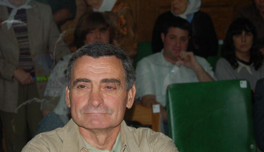 Walter Pagano durante el juicio de la causa Guerrieri (Crédito: Jerónimo Principiano)