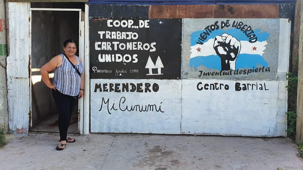 La sede de la cooperativa de Empalme Graneros.