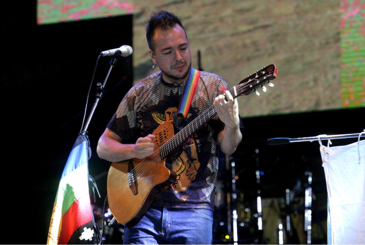 Bruno Arias y varias figuras más impregnarán de folclore el escenario del parque Urquiza.
