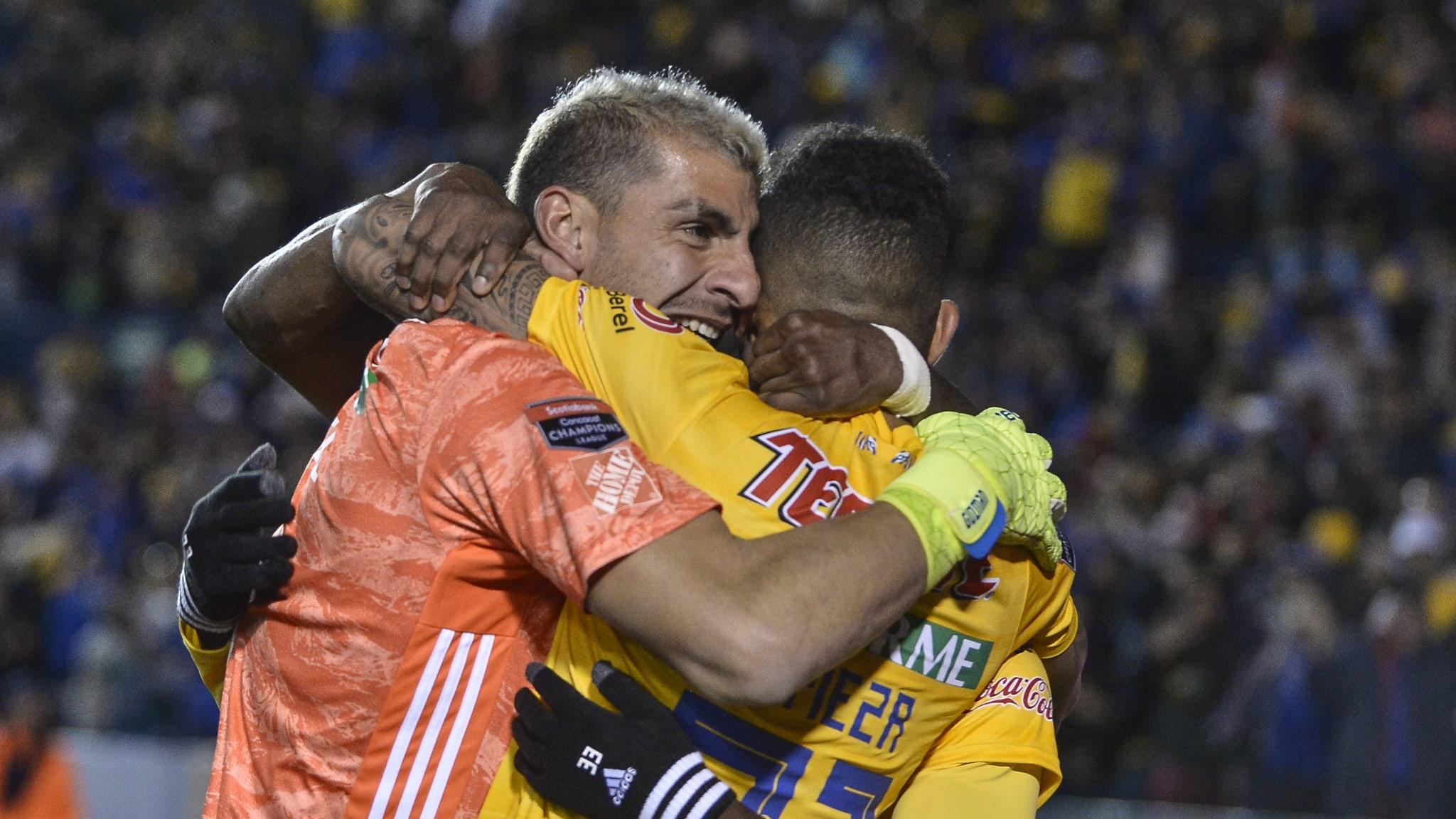 Guzmán y un gol histórico