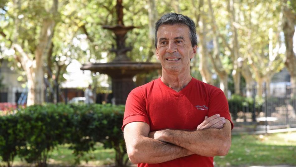 Chianelli, el autor de la obra (Foto: Silvio Moriconi)