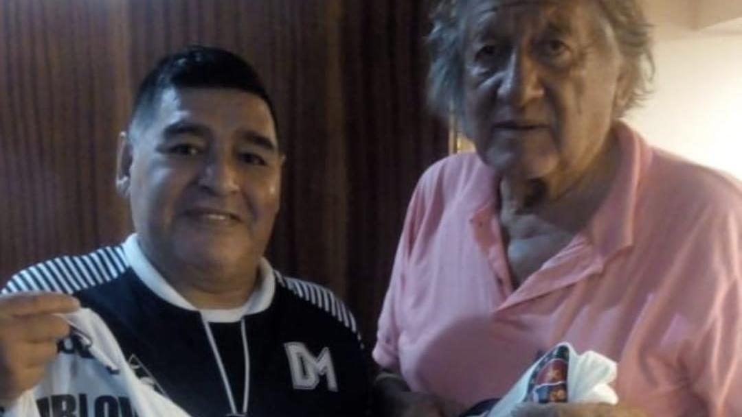 Diego y el Trinche, juntos.
