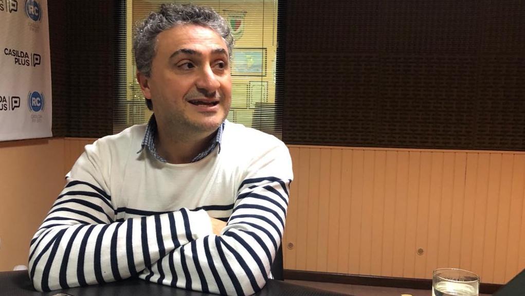 Walter Palanca conversó con Radio Casilda TV.