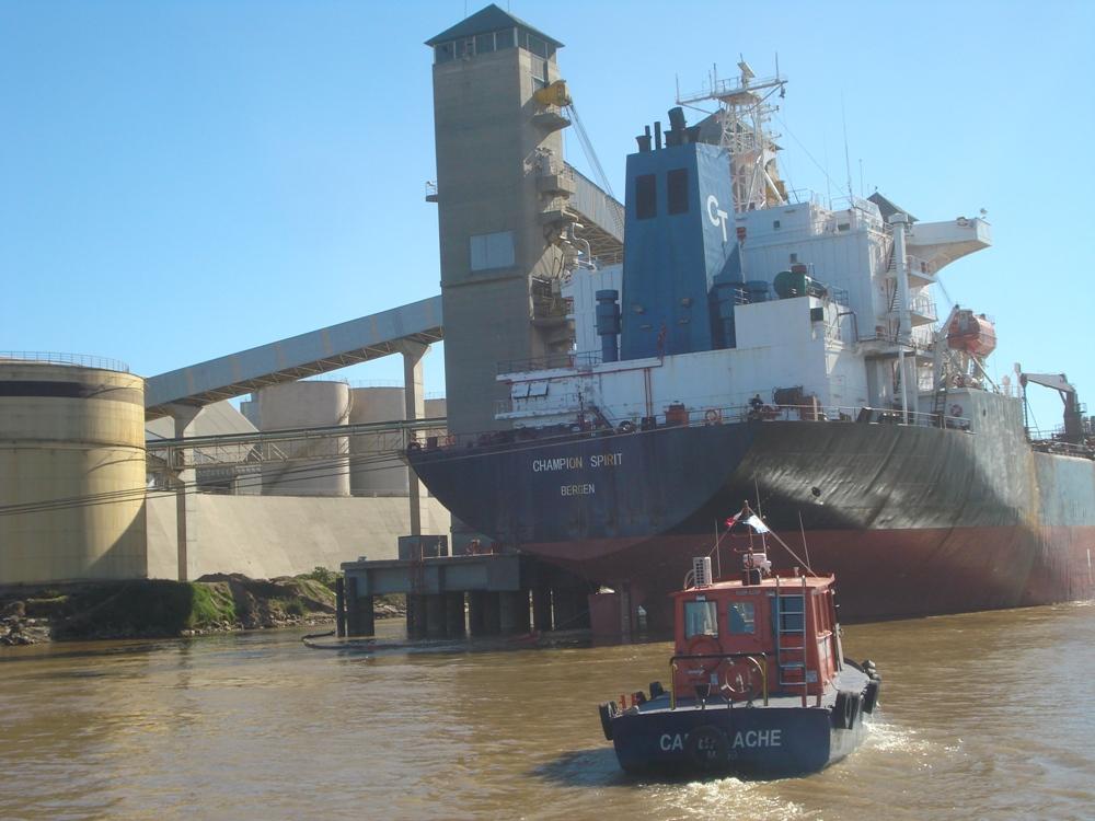 Los buques chinos ingresan constantemente en los puertos de la región