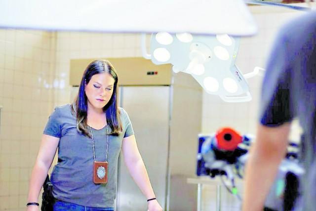 """Daniela Vega, la actriz chilena que protagoniza """"Colonia Dignidad""""."""