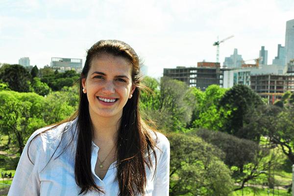 Eva Jokanovich, secretaria municipal de Movilidad.