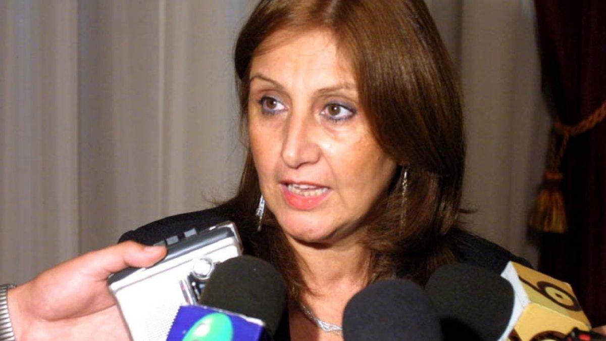 Adriana Cantero, ministra de Educación.
