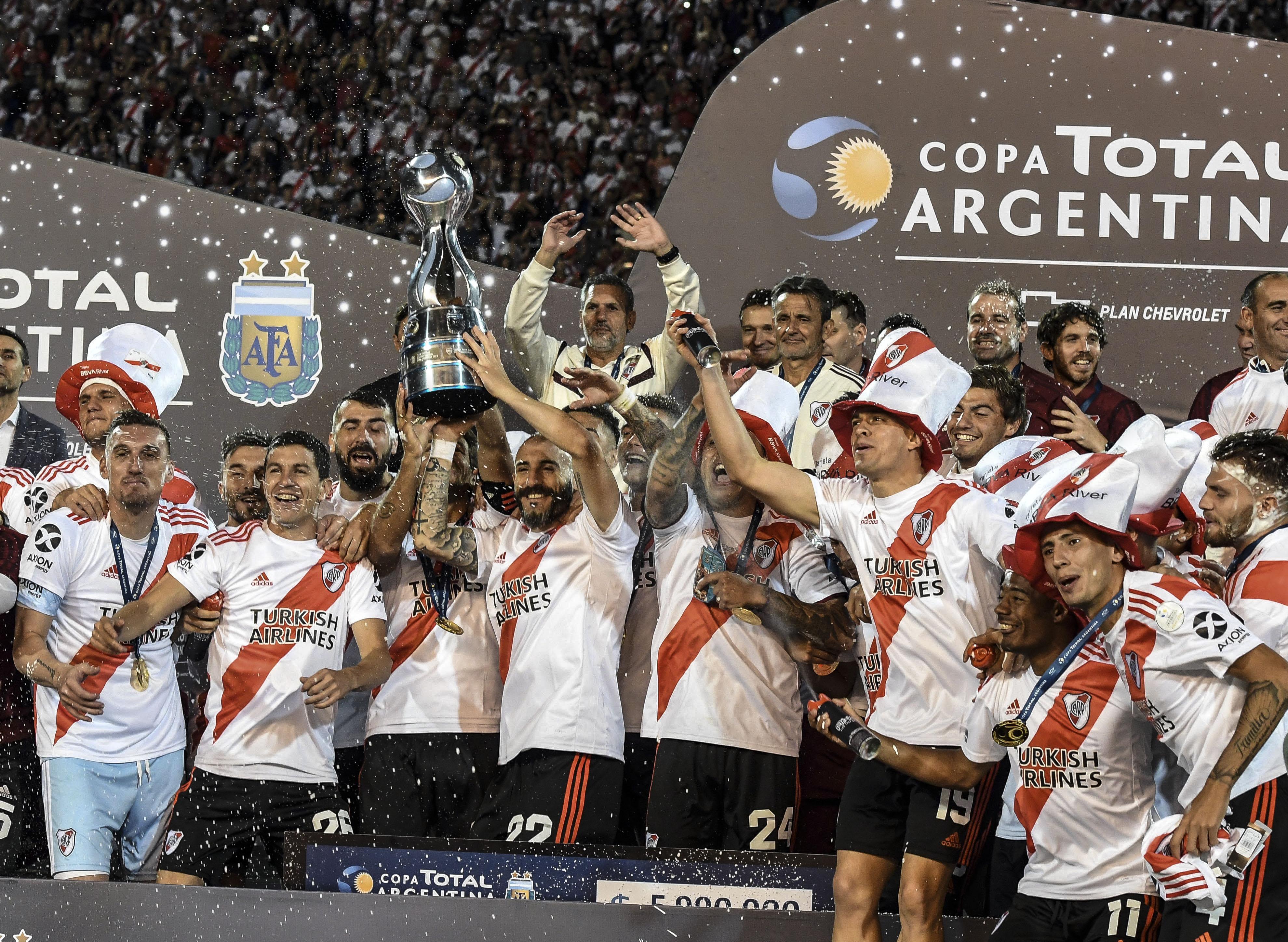 River ganó la tercer Copa Argentina en cuatro años (Télam)