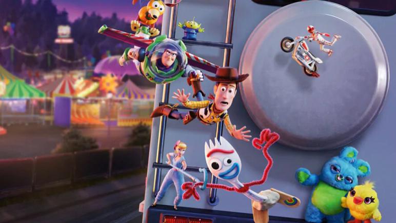 Toy Story estará el sabado y domingo desde las 16.