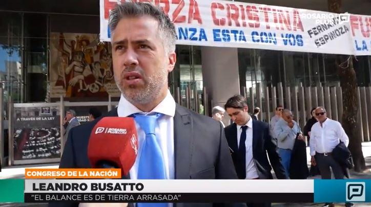 Busatto dio su balance de lo que deja el gobierno de Macri