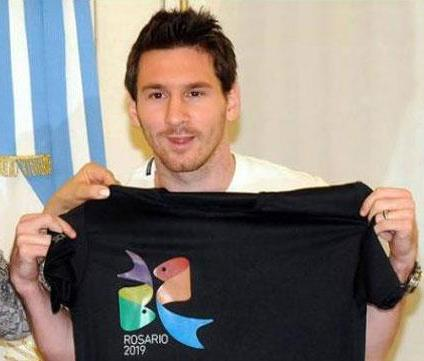 Messi declarado Embajador de Rosario en el mundo.