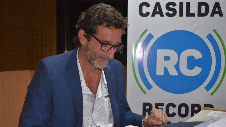 Andrés Golosetti presentó en sociedad a los suyos.