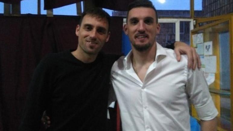 Sub-secretaría de deportes con Nanci Rosconi y Leandro Armani