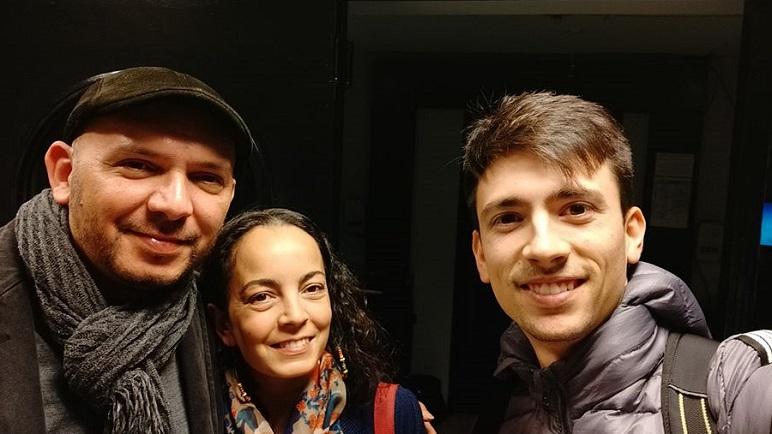 Pablo Acosta y Lucio Taragno unen su música frente al fogón de Sabores del Tiempo.