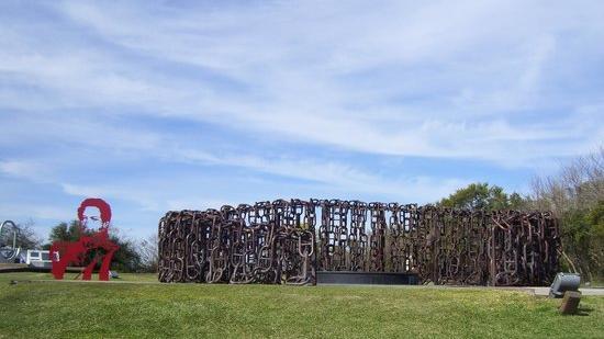 Monumento a la Batalla en San Pedro, Buenos Aires.