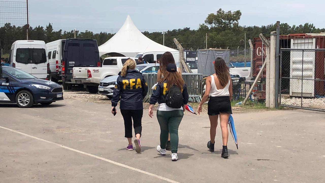 Importante operativo de la Policía Federal en el Autódromo de Rosario