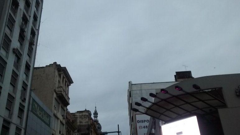Nubes todo el día
