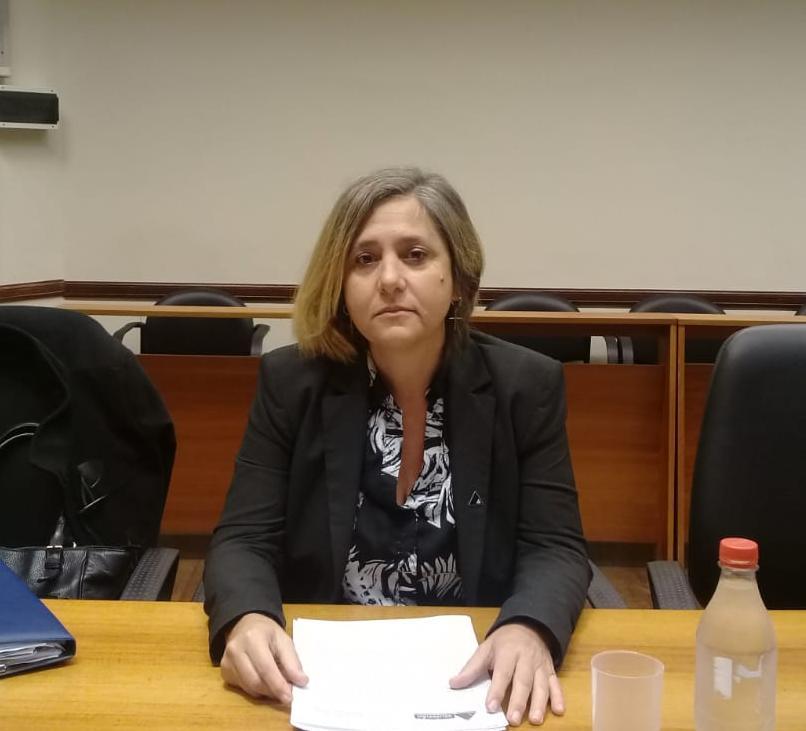Mariela Jiménez, una de las fiscales que recibió la denuncia.