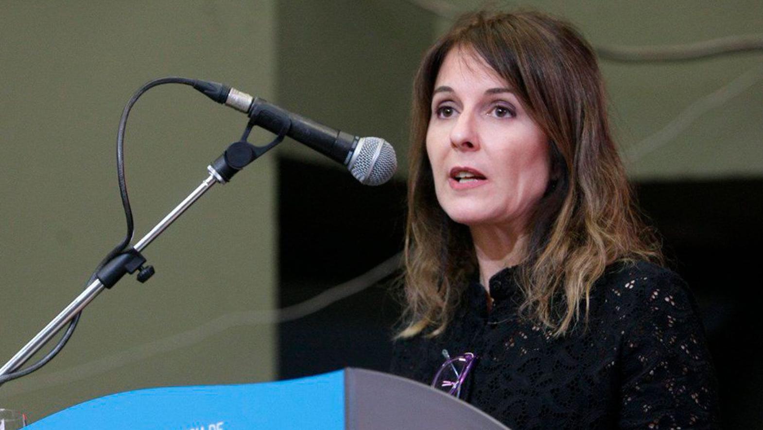 Caminotti es especialista en políticas de paridad de género.