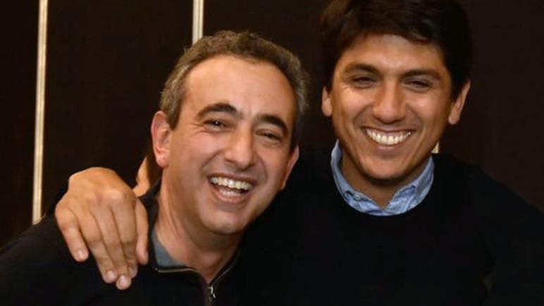 Javkin y Gianelloni, futuro secretario de Desarrollo Social.