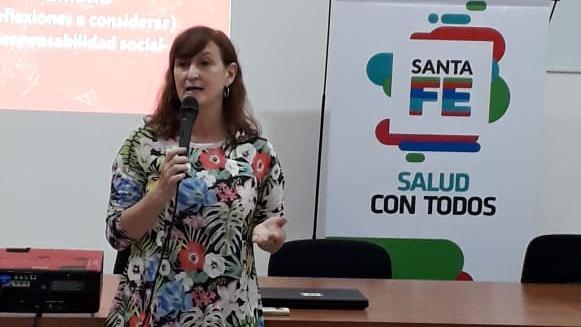 La ministra de Salud de Santa Fe,Andrea Uboldi,había anticipado el faltante de la vacuna.