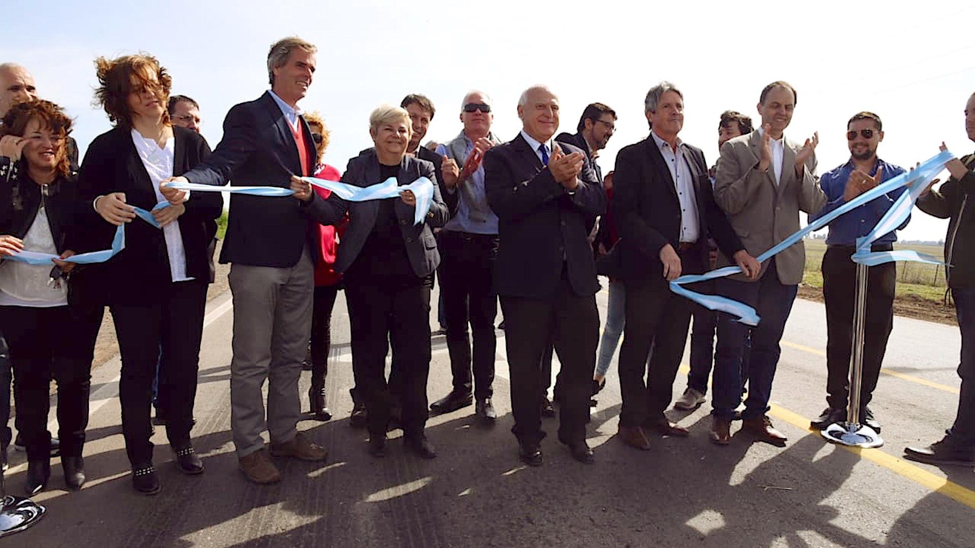 Lifschitz, con dirigentes de su espacio en la ruta