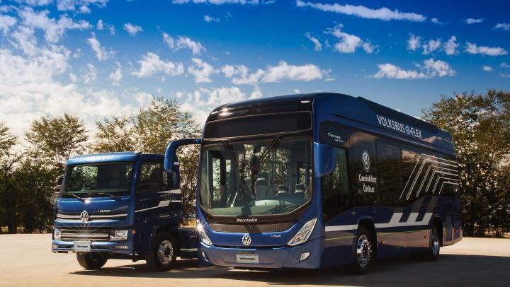 Volkswagen ya fabrica en Brasil el modelo de camión eléctrico e-Delivery.