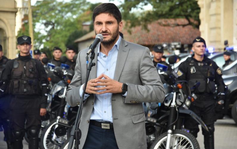 El ministro opinó sobre los antecedentes del detenido en Italia y Montevideo.