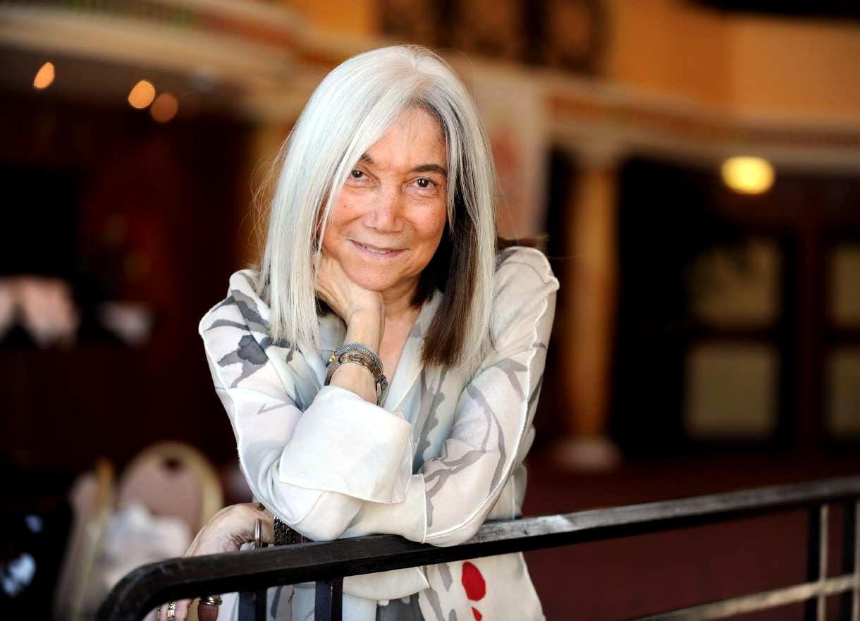 María Kodama estará hoy en Casilda. Llega invitada por el Club Rotario.