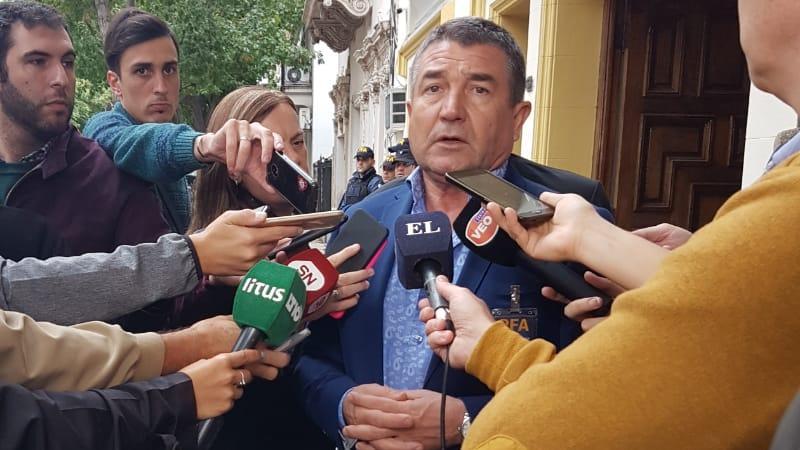 Néstor Roncaglia, jefe de la PFA, anunció la detención de su subalterno.