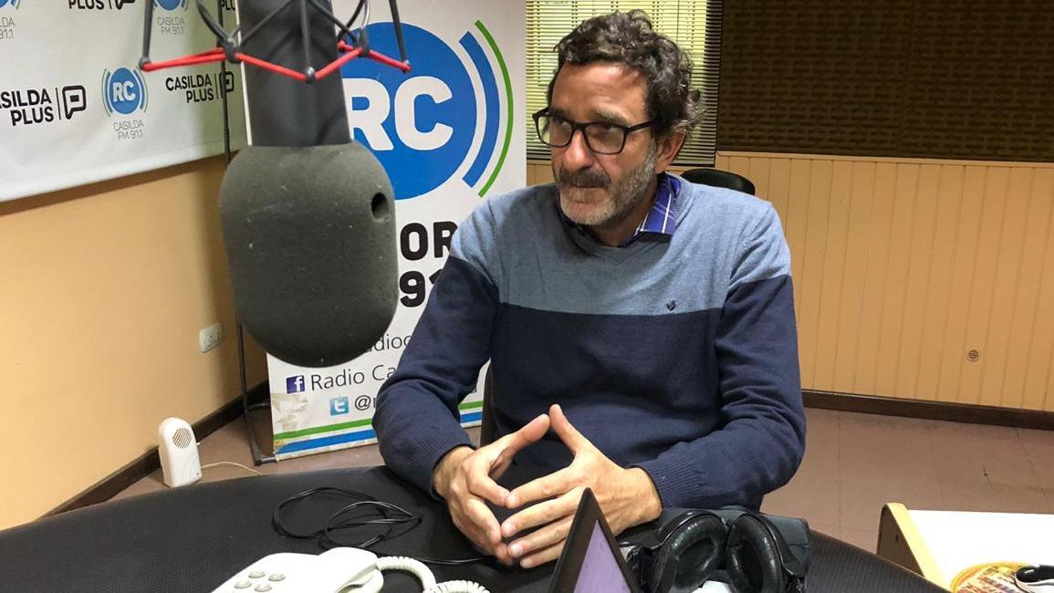 "Golosetti aseguró trabajar para disminuir el ""gasto político""."