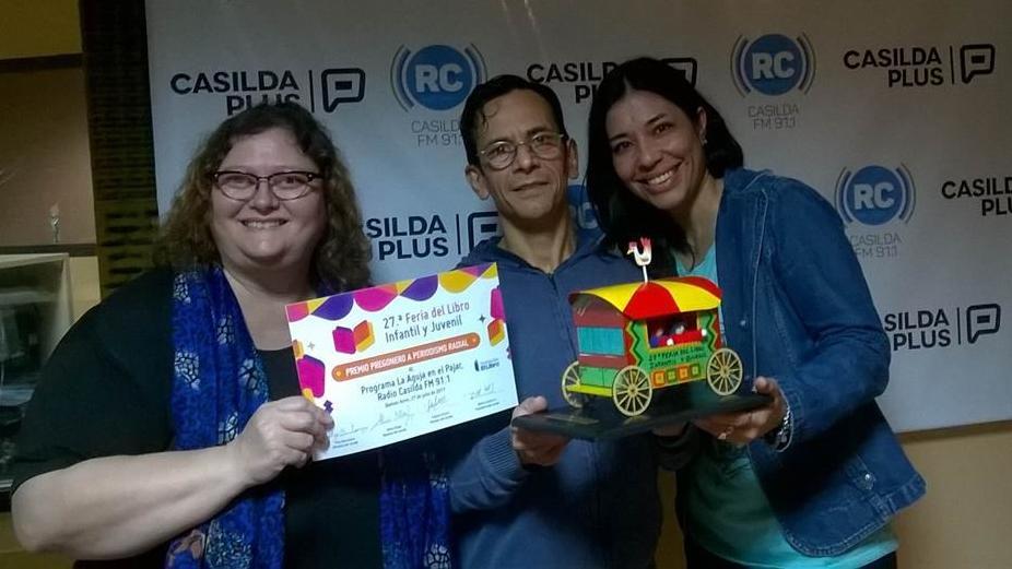 Un programa de Radio Casilda obtuvo un importante premio en Córdoba.
