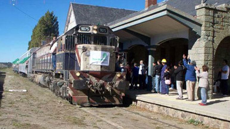 El Tren Solidario viene con una carga necesaria a la ciudad.
