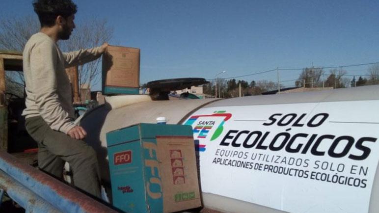 La harina agroecológica ya se comercializa en algunos mercados con sello propio.
