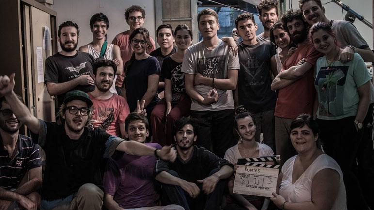 El elenco de 'Pasantes', la serie que se proyecta hoy en el Dante.