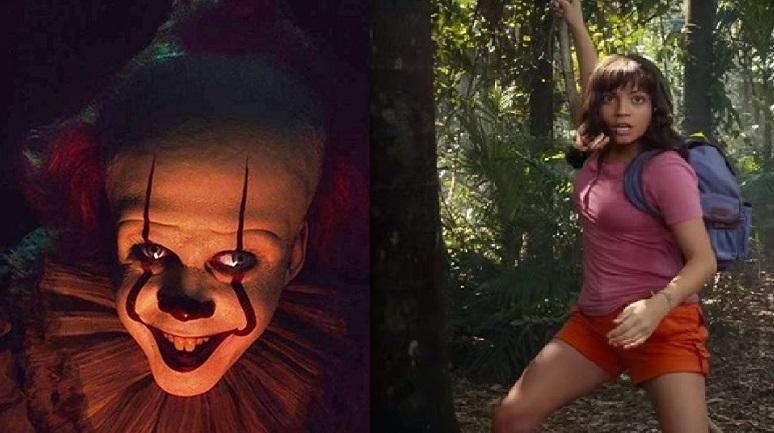 Pennywise y Dora, dos personajes bien diferentes que desembarcan en el Libertador.
