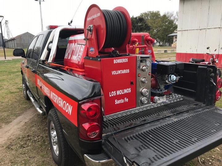 Sistema de ataque rápido, utilizado para icendios rurales.