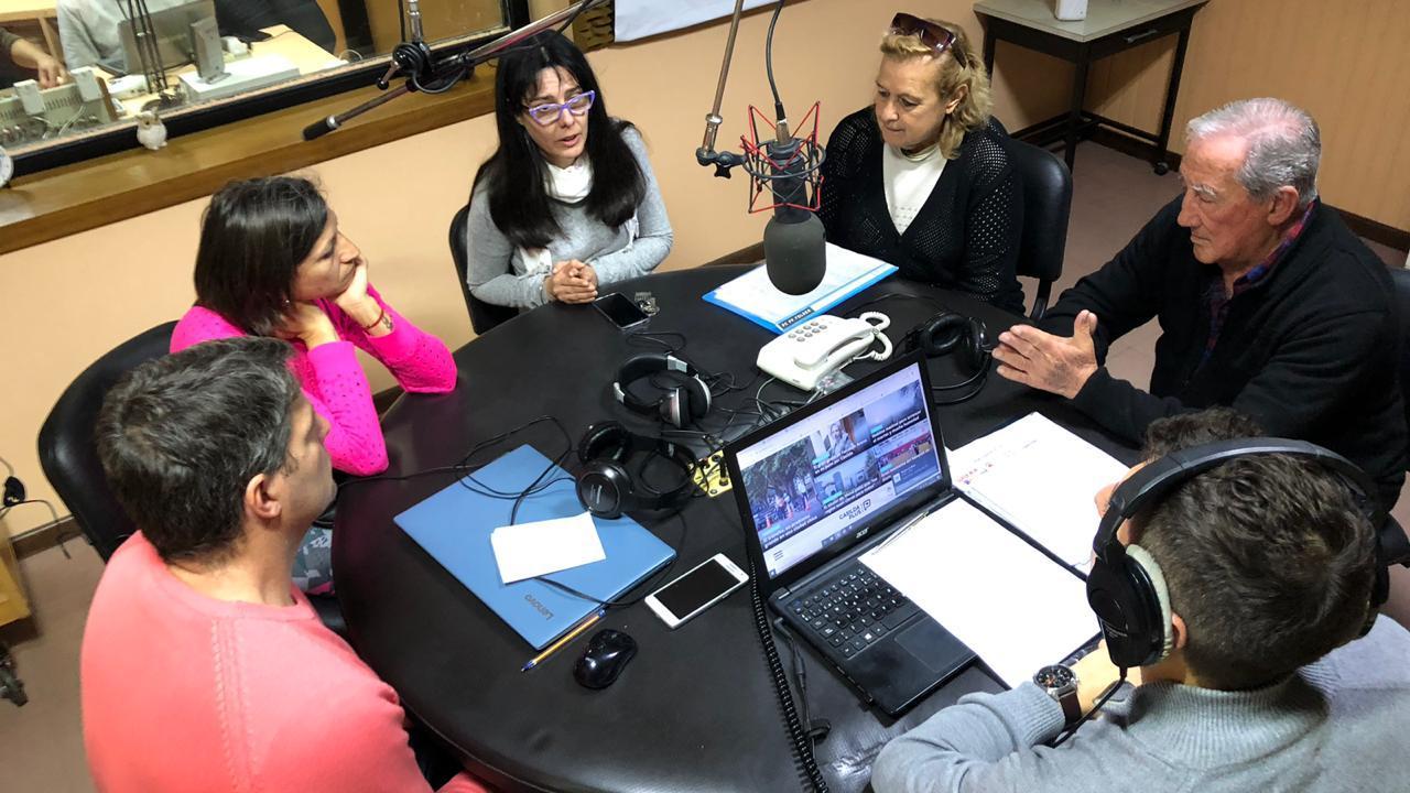 Los vecinos se hicieron presentes en Radio Casilda.