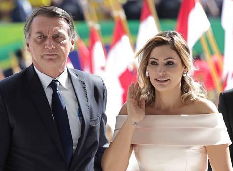 Michelle Bolsonaro, 37 años.